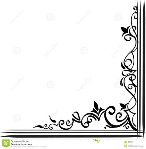 cadre ornemental photographie stock libre de droits image 889037