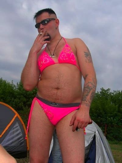 man bikini can a man wear a two piece bikini quora