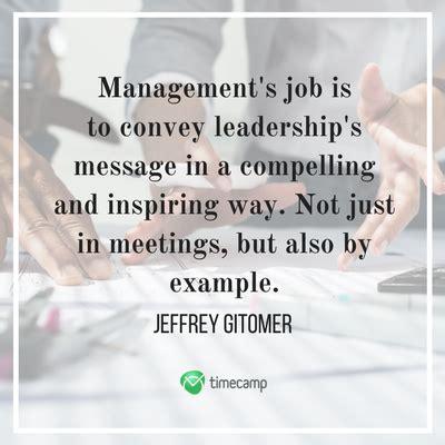inspiring leadership  management quotes timecamp