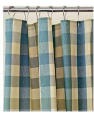Spectacular Savings on Country Curtains Moire Plaid Shower