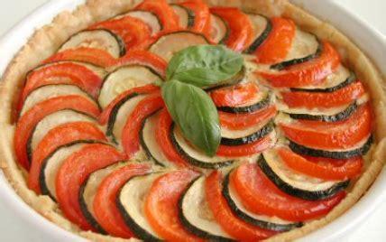 recette tarte aux legumes rapides