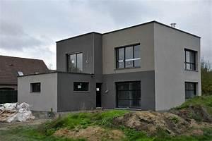 couleurs facades gris maison recherche google enduits With peinture de facade maison