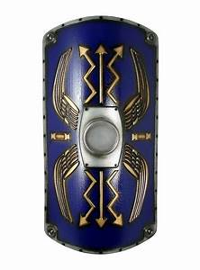 Roman Shield Scutum Deluxe blue Foam Weapon