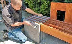 Bank Aus Holz : gartenbank aus beton gartenliege bild 9 ~ A.2002-acura-tl-radio.info Haus und Dekorationen