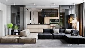 Sleek, Open, Plan, Interior, Design, Inspiration, For, Your, Home