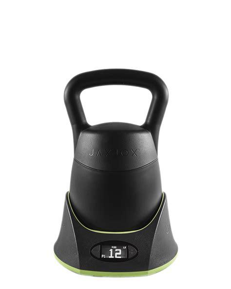 adjustable digital jaxjox kettlebell dumbbells