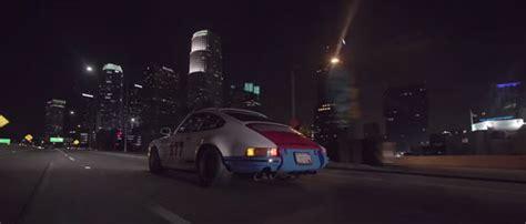 Porsche 911 Through Downtown La With Magnus Walker