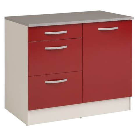 alin 233 a eko cuisine meuble de cuisine bas pour 233 vier avec