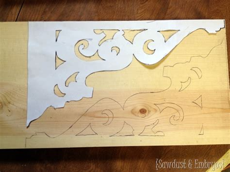 How To Make A Corbel by Diy Corbels For A Breakfast Bar Reality Daydream