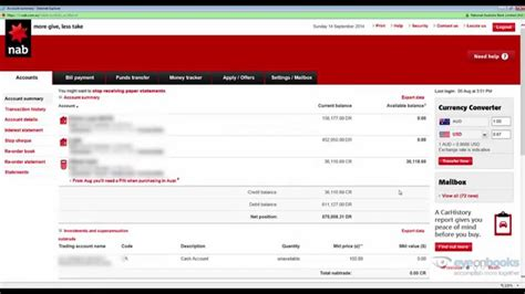 How To Export Nab Online Transactions For Xero