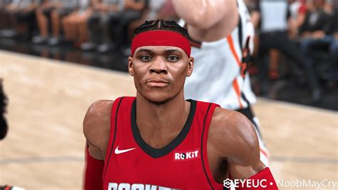 Russell Westbrook Face Hair And Body Model By Noobmaycry