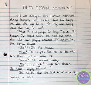 3rd person narrative essay write essay online free 3rd person ...