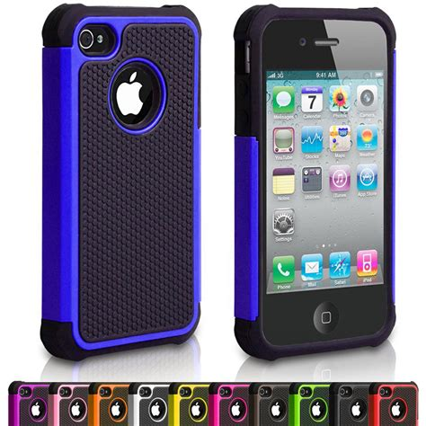 iphone 4s 4g silicone shock proof defender phone cover for