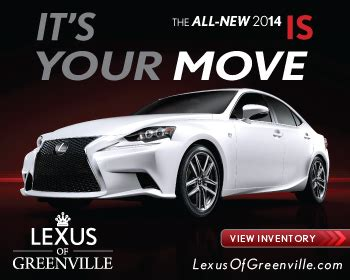Lexus Of Greenville  Lexus, Service Center Dealership