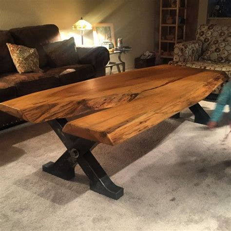 live wood coffee table 17 best images about live edge tables more on pinterest