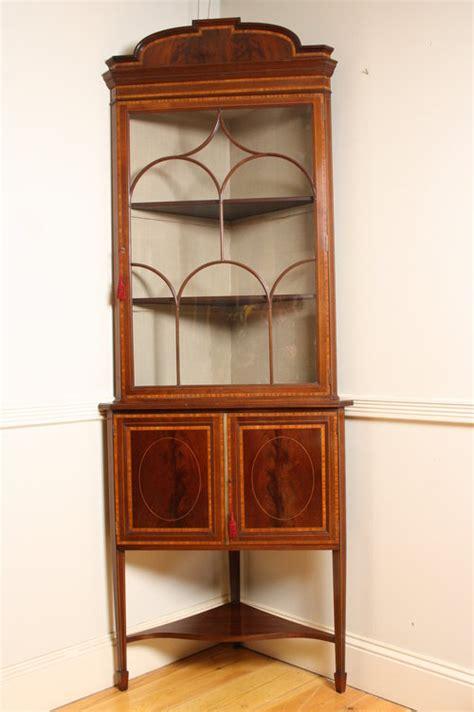 vintage corner cabinet edwardian corner cabinet antiques atlas 3179