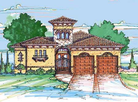 mediterranean home plan  casita mj architectural designs house plans