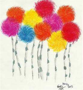 How to draw truffula tree