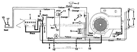 Mtd 10 Hp Wiring Diagram by Mtd 132 669g095 1992 Parts Diagram For Electrical System