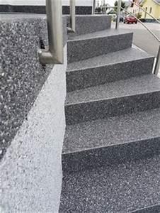 Steinteppich Verlegen Aussen : steinteppich treppe aussenbereich fugenlos schwarz steinteppich in 2019 patio house und outdoor ~ Eleganceandgraceweddings.com Haus und Dekorationen