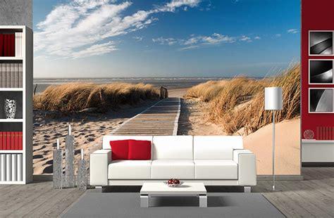 idee peinture chambre adulte poster panoramique dune de sur le chemin des dunes