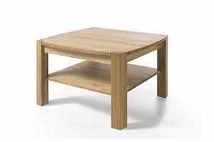 Table Basse Carrée En Bois : table basse carr e en bois massif cbc meubles ~ Teatrodelosmanantiales.com Idées de Décoration