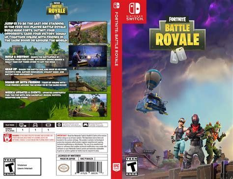 custom switch cover  fortnite battle royale