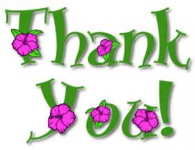 Thank You Note Clip Art