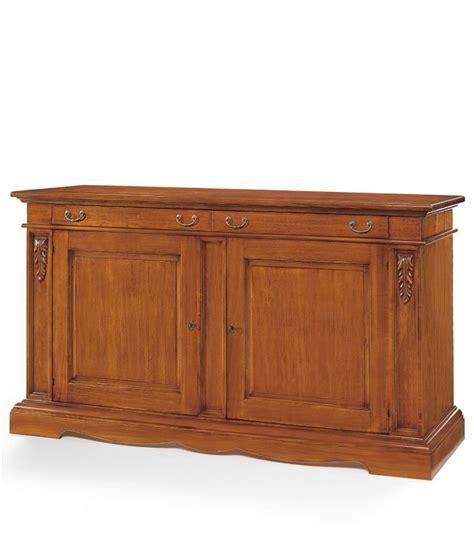 credenze in legno credenza in legno noce bassano spazio casa