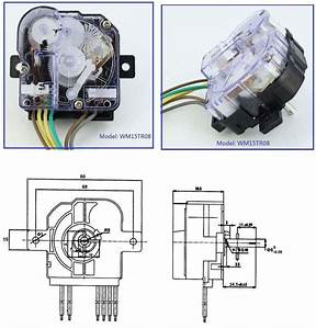 Hot Sale 220v 3a Double Shaft 15 Minutes Washing Machine Timer