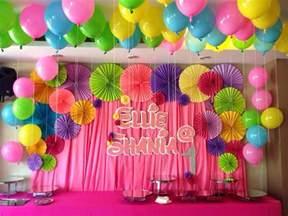 Birthday Party Backdrop