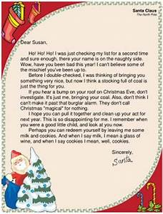 funny santa letters children39s correspondence to and With adult santa letters