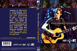 Copertina cd Bryan Adams - Unplugged MTV (Eng), cover cd ...