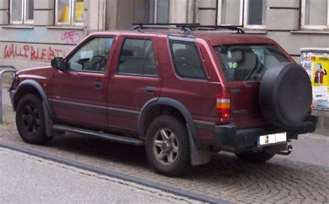 Opel Era by 1993 Opel Frontera Photos Informations Articles