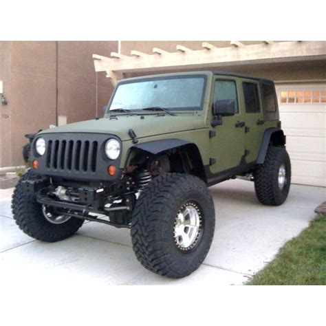 green jeep ideas  pinterest
