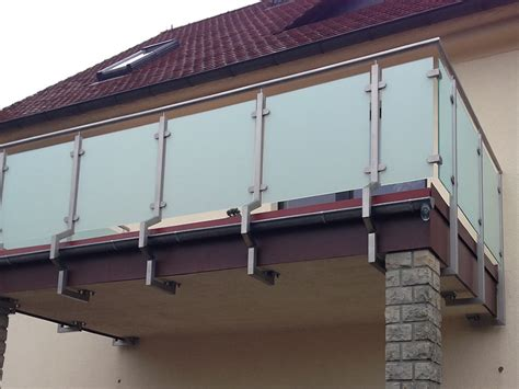 balkongeländer glas edelstahl www metallbau grahl de