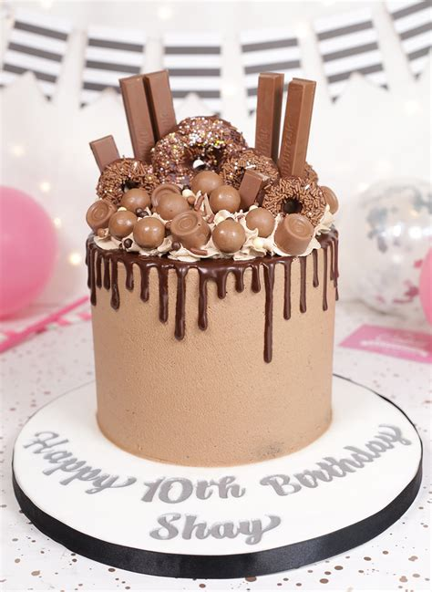 chocolate treats drip cake cakey goodness