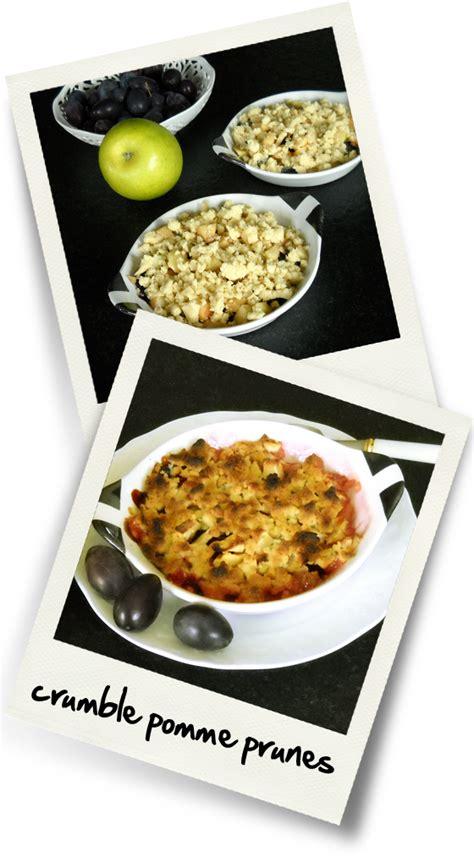 hervé cuisine crumble crumble pomme prunes christiane cuisine