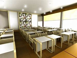 Modern classroom design the door interiors by kate choo for Home interior design schools 2