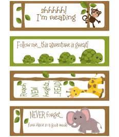Printable Bookmark Templates for Kids