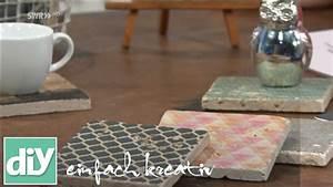 Fenstersprossen Selber Machen : untersetzer im vintage stil diy einfach kreativ youtube ~ Watch28wear.com Haus und Dekorationen