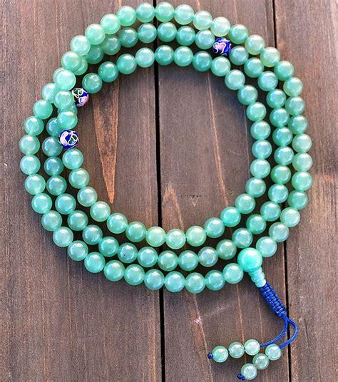 Aventurine Mala Prayer Beads