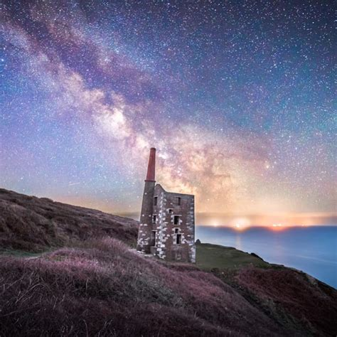 Wheal Prosper Under The Milky Way Aaron Jenkin