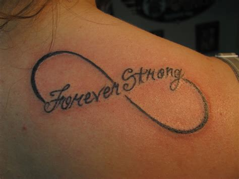 infinity tattoos  quotes  shoulders quotesgram