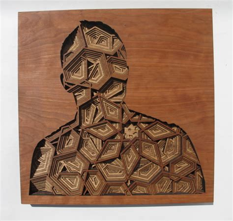 amazingly intricate laser cut wood relief silhouettes