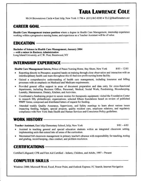 What A Resume Looks Like by What Should A Resume Look Like