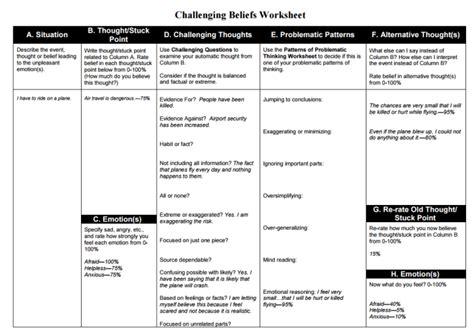 All Worksheets » Ptsd Worksheets  Printable Worksheets Guide For Children And Parents