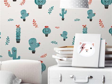 papier peint chambre enfants des papiers peints blancs aux motifs enfantins joli place