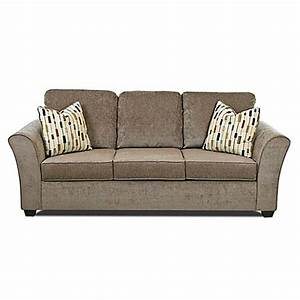 klaussner salina sofa in brown bed bath beyond With klaussner sofa bed