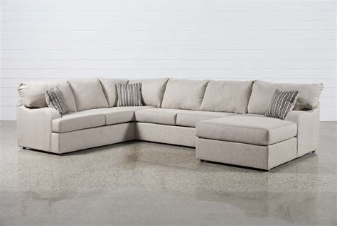 raf chaise sectional meyer 3 sectional w raf chaise living spaces